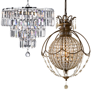 3 And 5 Arm Chandeliers