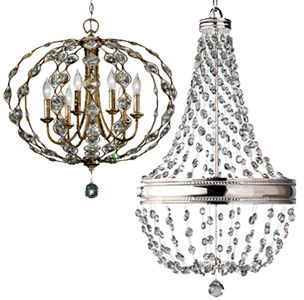 6 And 7 Arm Chandeliers