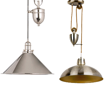 Pendant lights from easy lighting cage pendant lights rise and fall pendants mozeypictures Images