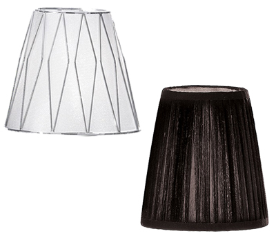 Lamp shades from easy lighting 4 to 9 inch shades aloadofball Image collections