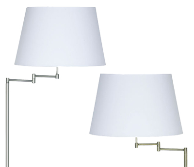 Floor lamps from easy lighting swing arm floor lamps aloadofball Choice Image