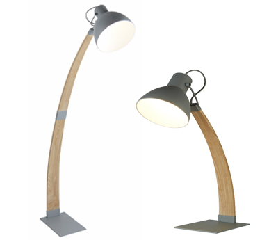 Searchlight Table And Floor Lamps