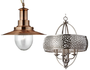 Pendant lights from easy lighting traditional pendant lights aloadofball Choice Image