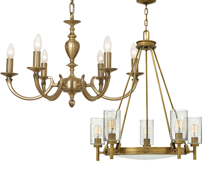 Antique Brass Ceiling Lights
