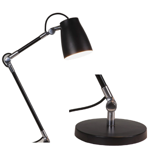 Component Style Reading and Desk Lamps