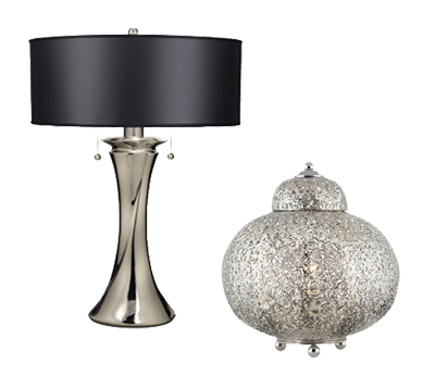 Table lamps from easy lighting contemporary table lamps aloadofball Choice Image
