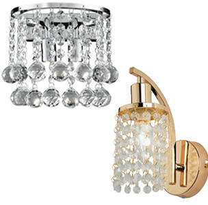 Crystal Wall Lights