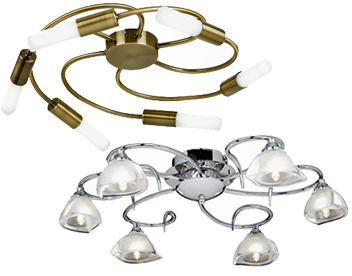 Flush Ceiling Lights Large