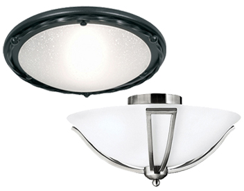 Flush Ceiling Lights Single