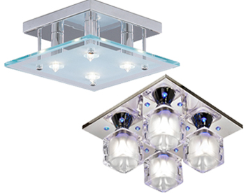 Flush Ceiling Lights Square