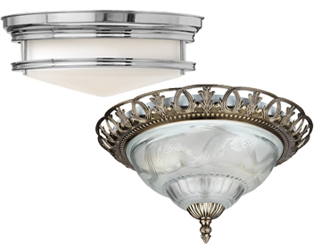 Flush Ceiling Lights Traditional