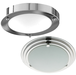 Flush Bathroom Ceiling Lights