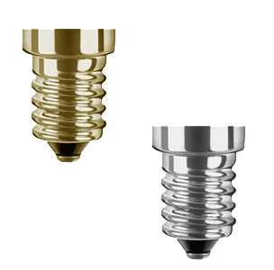 SES/E14 (Small Edison Screw Cap) Bulbs