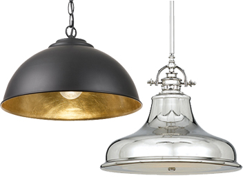 Pendant lights from easy lighting metal pendant lights aloadofball Choice Image