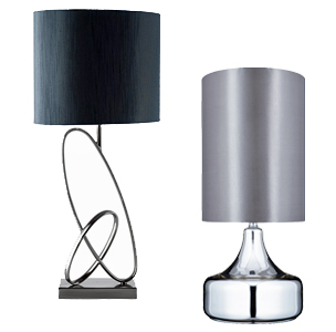 Table lamps from easy lighting modern table lamps aloadofball Choice Image