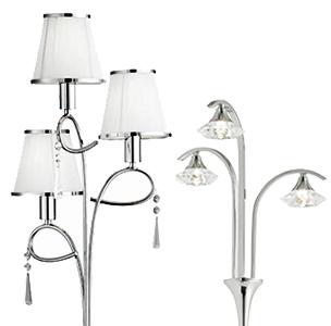 Floor lamps from easy lighting multi light floor lamps mozeypictures Gallery