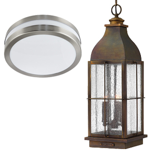 Porch Lanterns And Ceiling Lights
