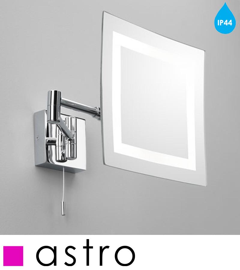 square vanity mirror