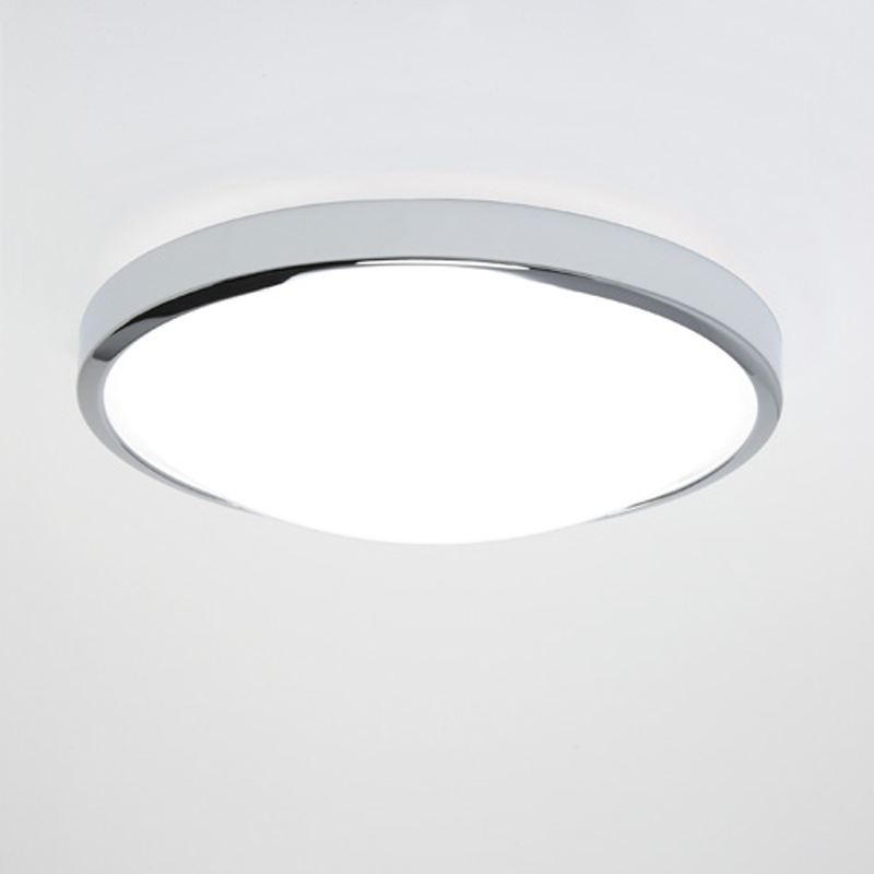 Astro Osaka LED IP44 Bathroom Ceiling Light Polished Chrome