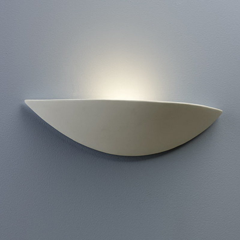 Astro 'Slice' IP20 Wall Light, White Finish - 0425