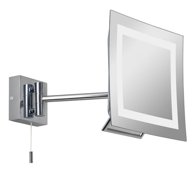 Astro niro switched bathroom mirror light polished chrome finish 0485 from easy lighting Polished chrome bathroom mirrors