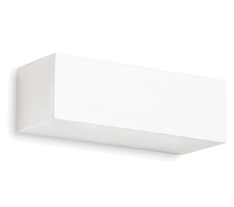 Leds C4 Ges Wall Uplighter, White Plaster Finish - 05-1793-14-14 None