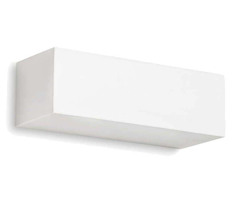 Leds C4 'Ges' Wall Uplighter, White Plaster - 05-1793-14-14