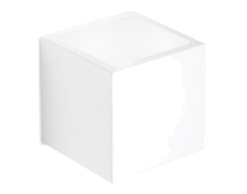 Leds C4 Ges Up & Down Wall Light, White Plaster Finish - 05-1794-14-14