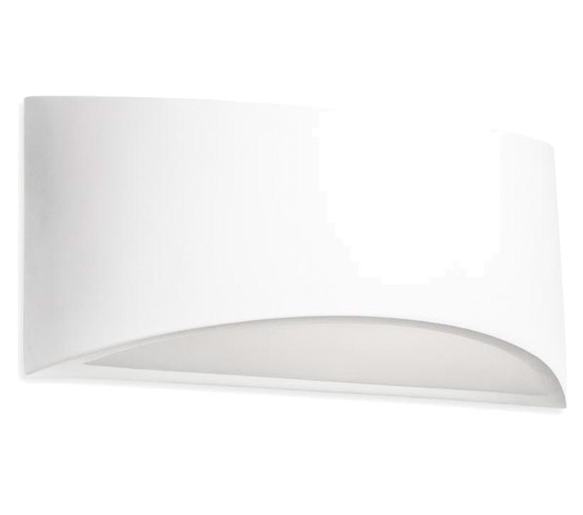 Leds C4 Ges Up & Down Wall/Ceiling  Light, White Plaster Finish - SALE-05-1796-14-14 Special Offer