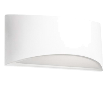 Leds C4 Ges Up & Down Wall/Ceiling  Light, White Plaster Finish - 05-1796-14-14