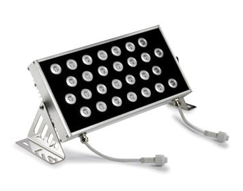 Leds C4 Ray LED Outdoor Spotlight, Anodized Silver Finish - 05-2499-54-H6