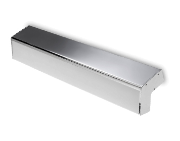 Leds C4 Concept 580mm 2 Light Bathroom Wall Light, Polished Chrome & Matt Opal Polycarbonate Diffuser - 05-4699-21-M1