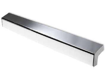 Leds C4 Concept 880mm 2 Light Bathroom Wall Light, Polished Chrome & Matt Opal Polycarbonate Diffuser - 05-4700-21-M1
