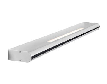 Leds C4 Splash 600mm LED Over Mirror Bathroom Wall Light, Chrome Finish With Matt Opal Polycarbonate Diffuser - 05-5308-21-M1