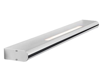 Leds C4 Splash 800mm LED Over Mirror Bathroom Wall Light, Chrome Finish With Matt Opal Polycarbonate Diffuser - 05-5309-21-M1