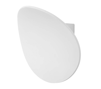 Leds C4 'Neu' LED Wall Light, Matt White Finish - 05-5330-14-14