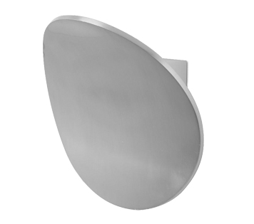Leds C4 'Neu' LED Wall Light, Anodised Aluminium Finish - 05-5330-S2-14