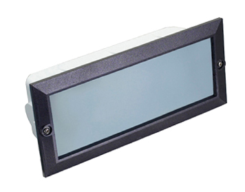 Wonderful Leds C4 U0027Herculesu0027 IP44 Outdoor Recessed Wall Light, Black   05 8961