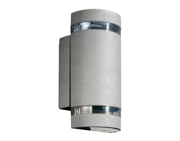 Leds C4 Selene Outdoor Up & Down Wall Light, Grey Finish - 05-9234-34-37