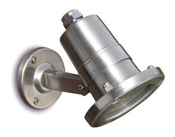 Leds C4 Aqua AISI 316 Adjustable Submersible Outdoor Spotlight, Grade 316 Stainless Steel Finish - 05-9245-CA-37