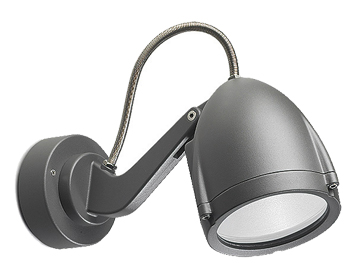 Leds C4 Alien Adjustable Outdoor Spotlight, Urban Grey Finish - 05-9296-Z5-37
