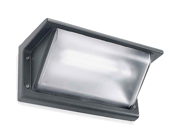 Leds C4 Curie PC 260mm Outdoor Wall Light, Urban Grey Finish - 05-9408-Z5-M3