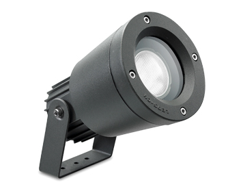 Leds C4 Hubble Adjustable Outdoor Spotlight, Grey Finish - 05-9416-34-37