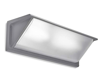 Leds C4 Curie PC 460mm Outdoor Wall Light, Grey Finish - 05-9457-34-M3