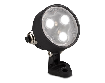 Leds C4 Aqua PC 7W LED Submersible Adjustable Spotlight, Black Finish - 05-9727-05-CM
