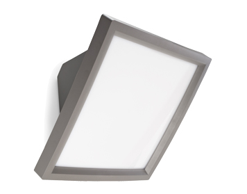 Leds C4 Access Outdoor Wall Light, White ABS Finish - 05-9734-34-M1