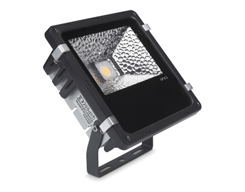 Leds C4 Proy 20W LED Adjustable Outdoor Spotlight, Black Finish - 05-9739-05-37