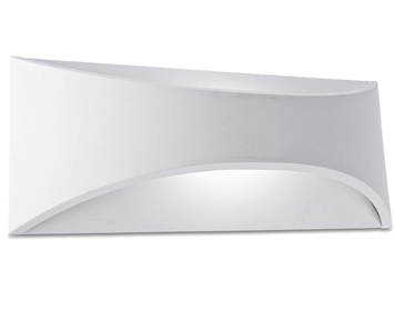 Leds C4 Venus LED 10w (300mm x 120mm) Up & Down Outdoor Wall Light, White Finish - SALE-05-9894-14-CL