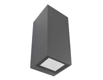 outdoor up down lights light fixtures leds c4 afrodita gu10 light up down outdoor wall light urban grey finish and lights from easy lighting