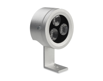 Leds C4 Midi 46 Degrees LED Outdoor Spotlight, Grey Finish - 05-9984-34-CL